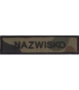Imiennik Polowy Name Patch Nazwisko WZ2010 US-22