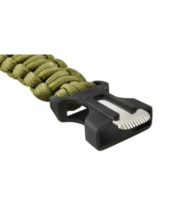 Bransoletka Paracord 5w1 OLIVE