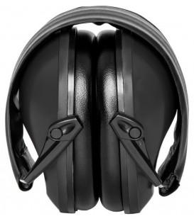 Słuchawki ochronniki słuchu CZARNE MT