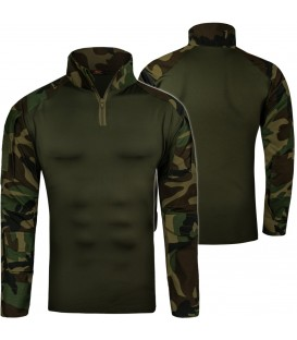 Combat shirt BLUZA TAKTYCZNA woodland
