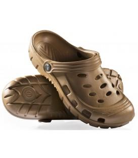 Sandały KLAPKI kroksy piankowe COYOTE