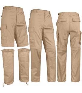 Spodnie odpinane ZIP OFF 2w1 PIASKOWE MT