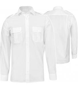 Męska koszula służbowa biała