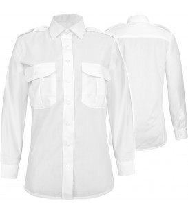 Damska koszula służbowa biała
