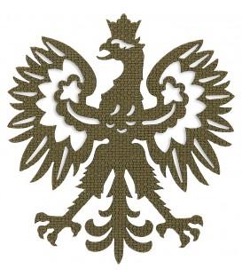Emblemat orzeł Polski czarny M-TAC