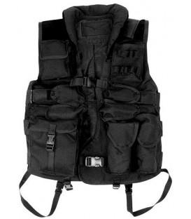 Kamizelka Taktyczna HD czarna SWAT