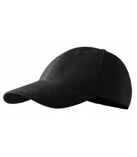 Klasyczna czapka z daszkiem CZARNA