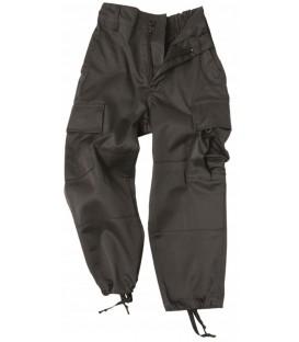 Spodnie dziecięce bojówki CZARNE MT