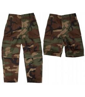 Spodnie dziecięce bojówki 2w1 WOODLAND MT