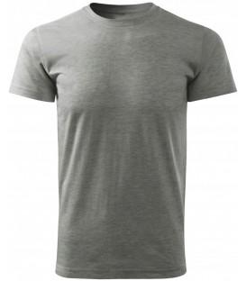 T-SHIRT Koszulka bawełniana SZARA