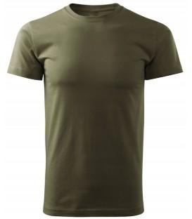 T-SHIRT Koszulka WOJSKOWA bawełniana KHAKI