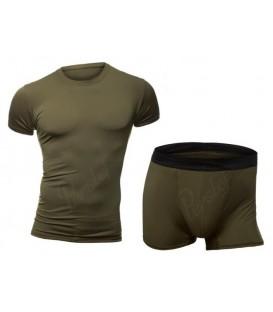 Bielizna termoaktywna Koszulka+Szorty KHAKI