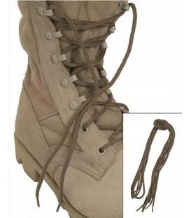 Sznurowadła do butów wojskowych COYOTE 180cm 2pary