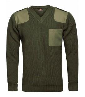 Sweter Wojskowy KHAKI