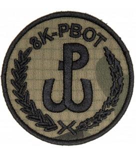Naszywka 8K-PBOT WOT