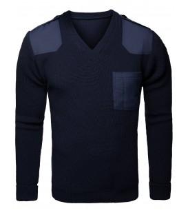 Sweter Policyjny GRANATOWY