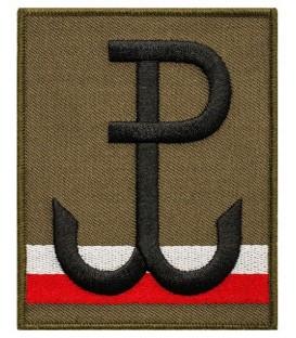 Naszywka Flaga POLSKA WALCZĄCA na ramię