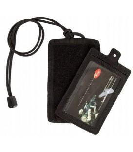 Etui pokrowiec na przepustkę/identyfikator ID CARD CZARNY