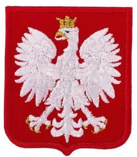 GODŁO Polski Orzełek 66x55mm WZ MON