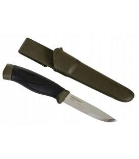 Nóż MORA Companion MG stal nierdzewna OLIVE