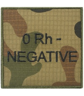 Grupa Krwi RIPSTOP WZ2010 0RH- negative