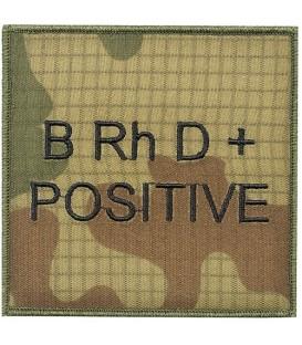 Grupa Krwi RIPSTOP WZ2010 BRhD+ positive