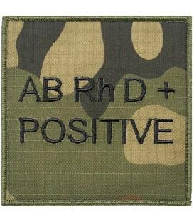 Grupa Krwi RIPSTOP WZ2010 ABRhD+ POSITIVE
