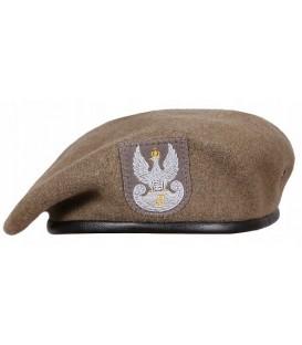 Beret wojskowy obrony terytorialnej WOT z orłem