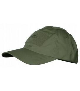 HELIKON czapka taktyczna OLIVE GREEN + velcro