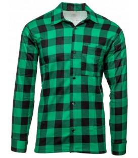 Koszula Flanelowa w kratę ZIELONA
