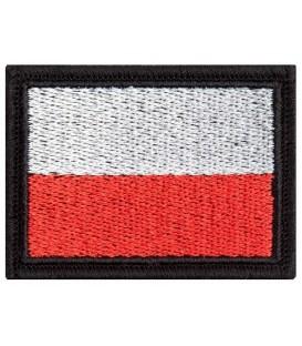 Naszywka Flaga Polski 55/38 biało-czerwona KOLOR